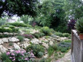 hillside landscaping garden and lanscape idea landscaping a hillside pictures