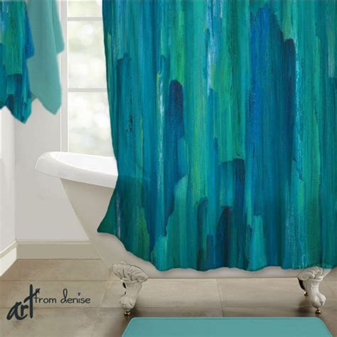 teal green bathroom the 25 best turquoise shower curtains ideas on pinterest