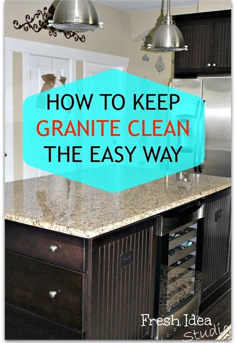 how to keep the kitchen clean bonito designs how to clean the secret to easy clean granite you won t find under the