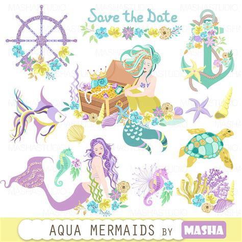 mermaid clip mermaid clipart quot aqua mermaids clipart quot anchor clipart