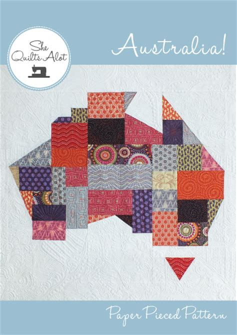 Patchwork Patterns Australia - january 2016 she quilts alot