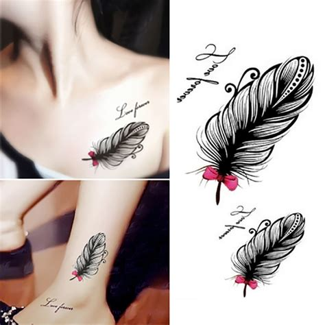 small fresh harajuku waterproof temporary tattoos for