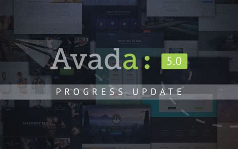 avada theme update notes avada 5 0 update theme fusion