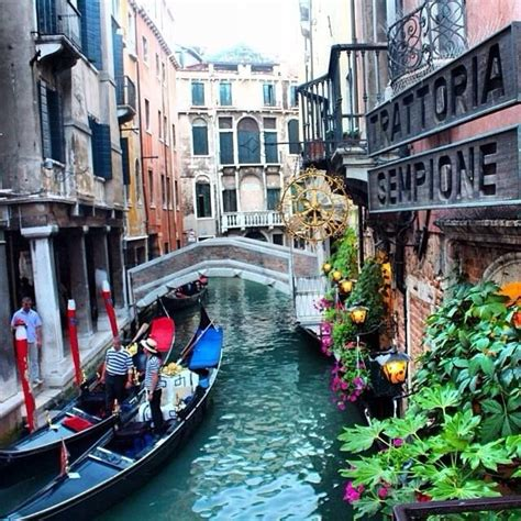 canal boat italy venice italy canal boat magical boats pinterest