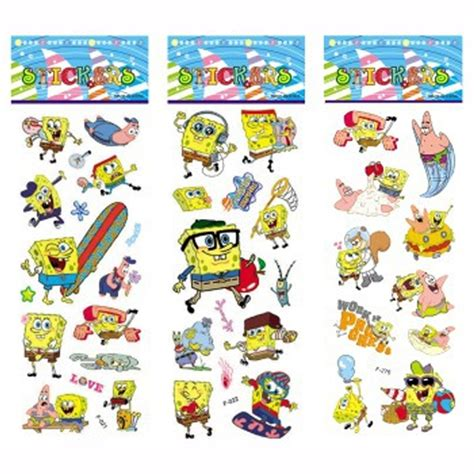 Wallpaper Sticker Spongebob 1 buy wholesale spongebob sticker from china spongebob sticker wholesalers aliexpress
