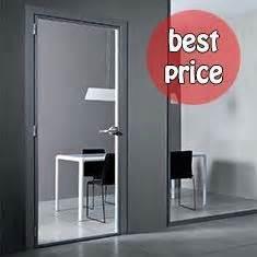 porte interne in alluminio e vetro listino prezzi porte interne vetro e alluminio