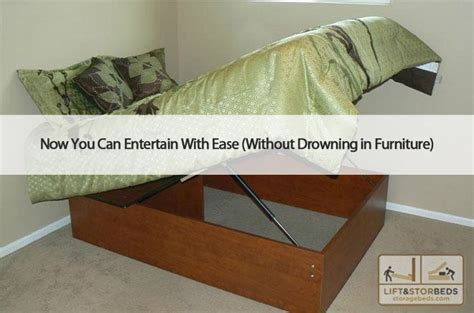 beds with ease hiding holiday clutter with your storage bed lift and stor