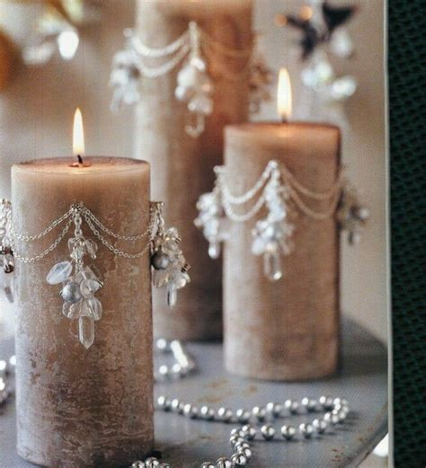 how to decorate a candle beaded candles wire ideas easy beautiful