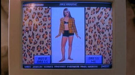 Clueless Wardrobe App by The Clueless Closet Exists In Real Fashion