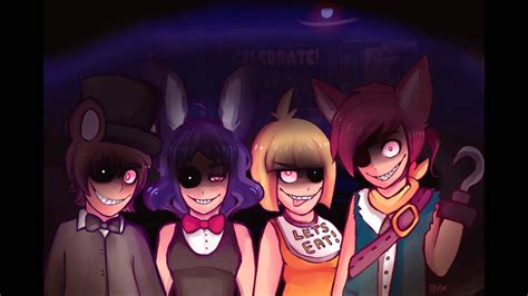Five nights at freddy s song nightcore by chibi youtube