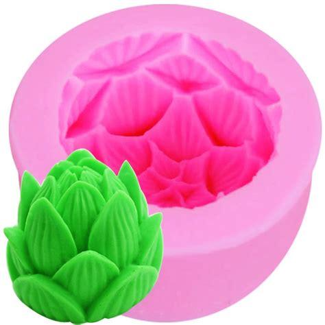 Cetakan Silicon Bentuk Bunga kerajinan dari bahan lunak dan macam contoh karya dari sabun lilin