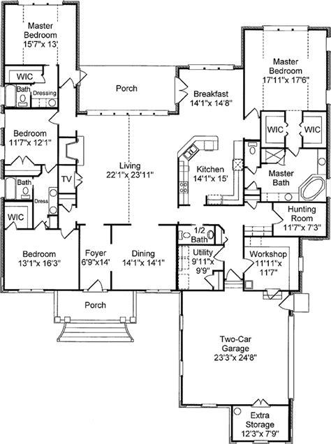 mediterranean style house plan 5 beds 3 baths 3036 sq ft mediterranean style house plan 4 beds 3 5 baths 3668 sq