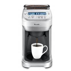 Single Serve Coffee Maker With Grinder Built In Buy Breville 174 Youbrew 174 Glass Coffee Maker With Built In