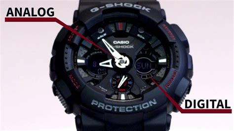 Casio G Shock Ga 120 1adr casio g shock ga 120 1adr overview and features