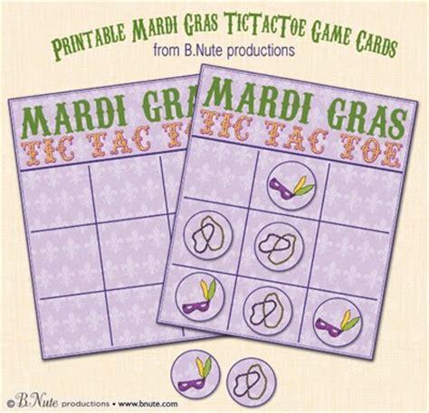 printable games for mardi gras bnute productions printable mardi gras tictactoe game
