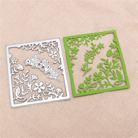 Metal Dies For Paper Crafting - metal cutting dies stencil diy scrapbooking embossing