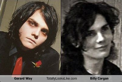 young gerard way the shape of gerard way face when he was gerard way totally looks like billy corgan totally looks