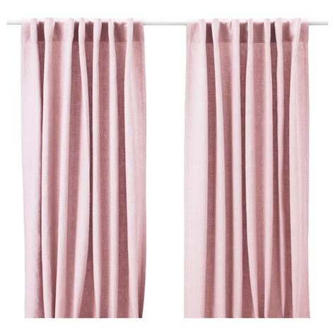 ikea curtains aina aina curtains 1 pair pink ikea mood board sugared