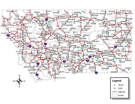 road map montana usa 100 montana county map totality maps by state u2013