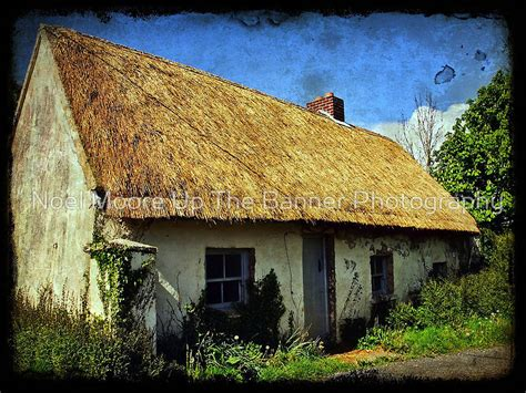 Thatched Cottages In by Quot Thatch Cottage County Clare Ireland Quot By Upthebanner Redbubble