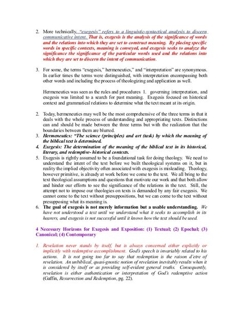 writing an exegetical paper how to write an exegetical paper