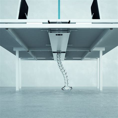 Desk Cable Tray View Product Bishop Interiors