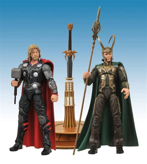 Thor Figure Marvel dst marvel select thor figures packaged