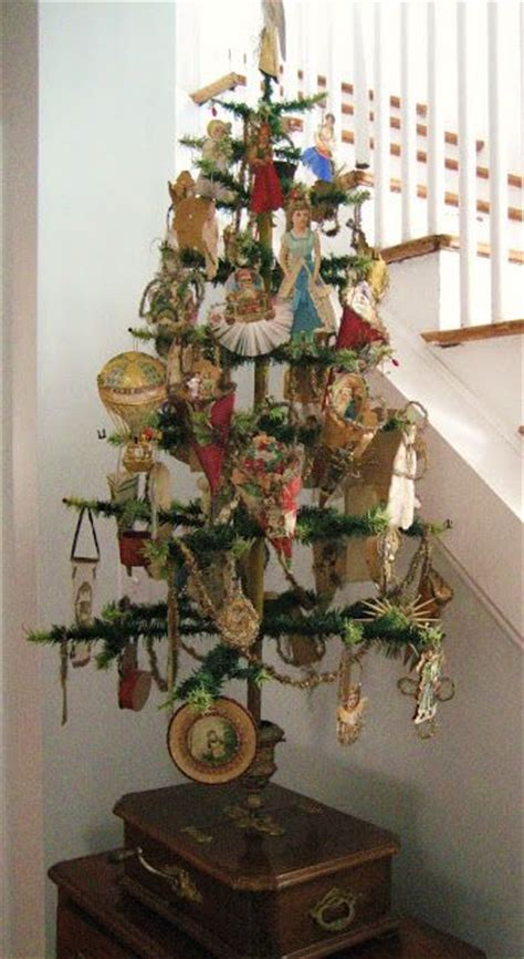 feather tree a shebby chic and victorian christmas