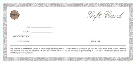 voucher template gift vouchers templates free menu templates for microsoft