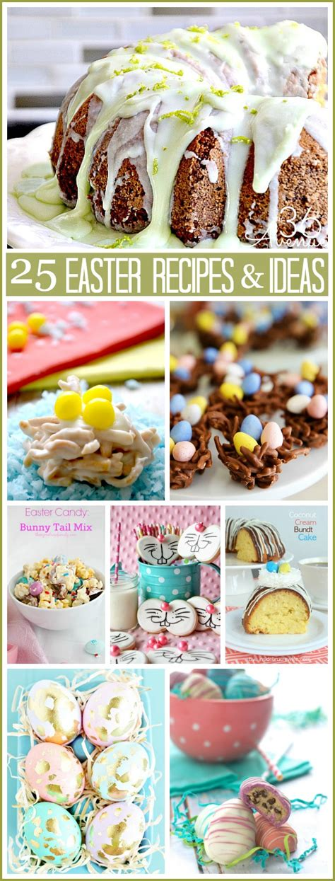 Diy Backyard Projects Pinterest 25 Easter Recipes And Ideas The 36th Avenue