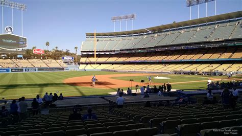 Dodger Stadium Section 31 Rs dodger stadium section 31 rateyourseats