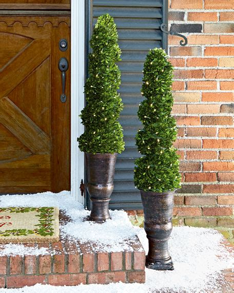 lighted spiral topiary tree lighted 50 quot spiral topiary tree