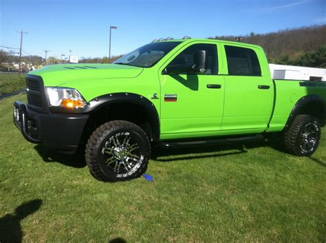 "2012 Custom ""Colours""   Dodge Diesel   Diesel Truck"