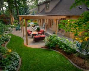 awesome patio beautiful homes design