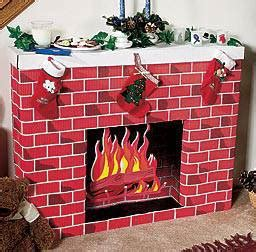 How To Make A Paper Fireplace - cardboard fireplace diy tutorial beesdiy