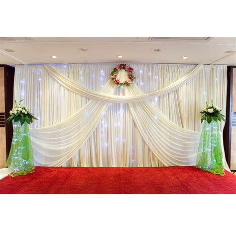 backdrop curtains for sale 2016 new design mandap 3 6 wedding curtain drapery for