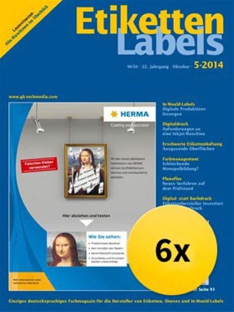 Etiketten Labels by Verlagsgruppe Ebner Ulm Etiketten Labels