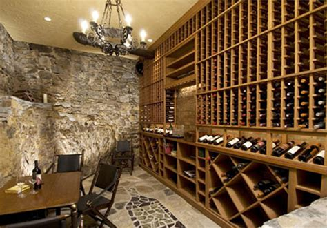 Most Beautiful Speakers Unique Home Theater With A Wine Cellar In A Historic Den