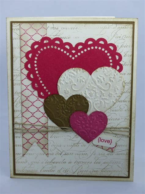 Handmade Cards For Husband - stin up handmade greeting card s day card