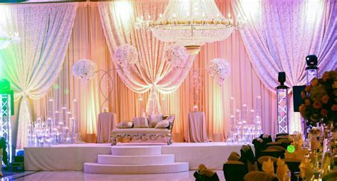Muslim Reception Decor   Wedding Flowers and Decorations
