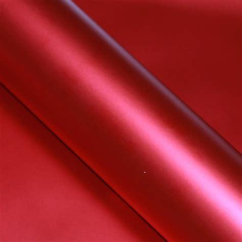 Folie Matt Chrom Rot autofolie rot matt chrom metallic selbstklebend luftkan 228 le