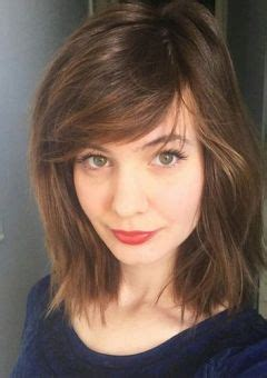 show side fring on long hair for older woman hairstyles and haircuts with bangs in 2018