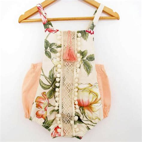 baby rompers style baby boutique clothes newborn