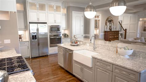 Richmond Kitchen Cabinets by Berwyn Cambria Quartz Countertops In Majestic Kitchen