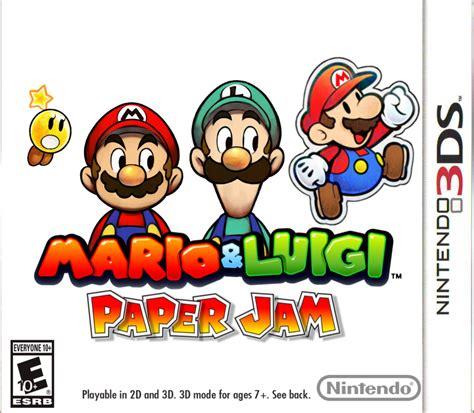 Kaset 3ds Mario Luigi Paper Jam minecraft story mode and others hitting nintendo eshop jan 21 thegamerholics