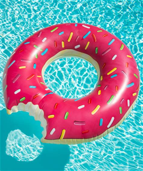 donut pool float relax in the most gluttonous pool float