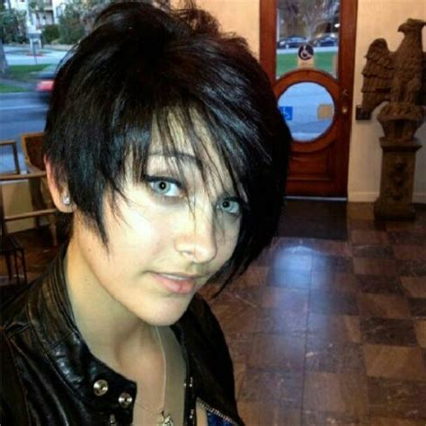 what hair style did paris jackson cut her hair maybe paris jackson doesn t want to know who her real