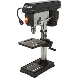 bench press tool klutch benchtop drill press 5 speed 10in 1 2 hp 120v