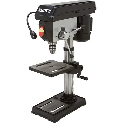 5 speed bench drill press klutch benchtop drill press 5 speed 10in 1 2 hp 120v