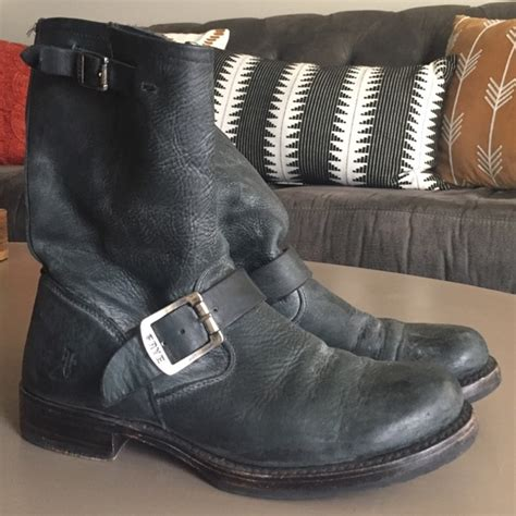 rugged black boots 36 frye shoes frye rugged black boots from emilee s closet on poshmark